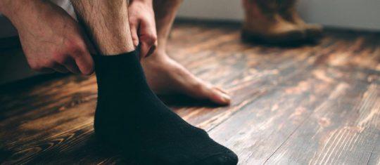 chaussettes longues pour homme